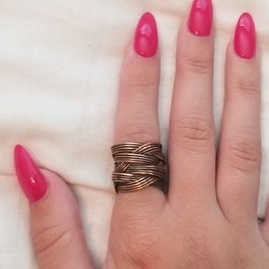 Jewelry - Copper wrapped ring